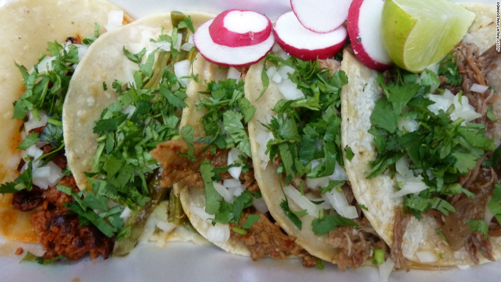 Known as Vitamin T, tacos, tortas, tamales and tostadas are part of  everyday life.