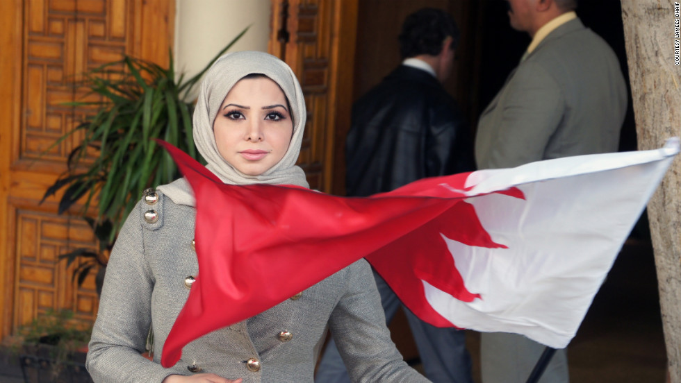Lamees Dhaif is a journalist from Bahrain who left the country after her vocal support of the Arab Spring protests resulted in death threats against her and her family.