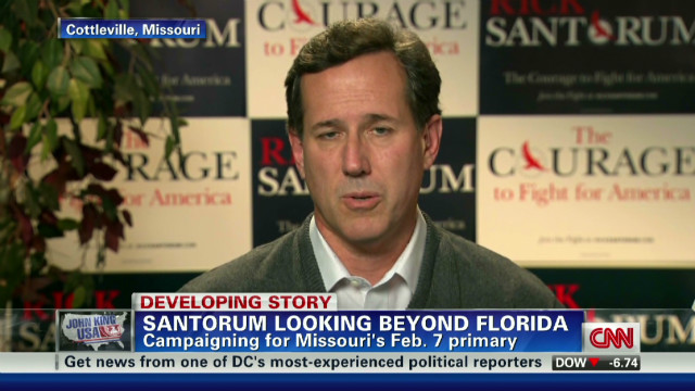 Santorum : This race isn't over