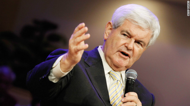 Republican presidential hopeful Newt Gingrich stopped short of saying he would drop out if he fails to win Georgia next month.