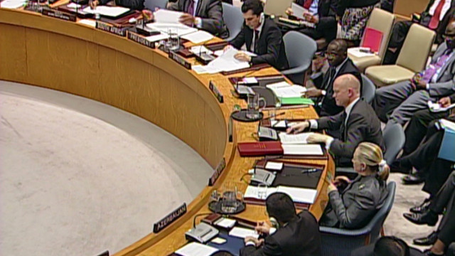 Security Council debates Syria