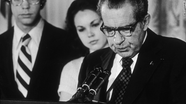 A cover-up led to President Richard Nixon's resignation, but Watergate was fueled by secret campaign money, scholars say.