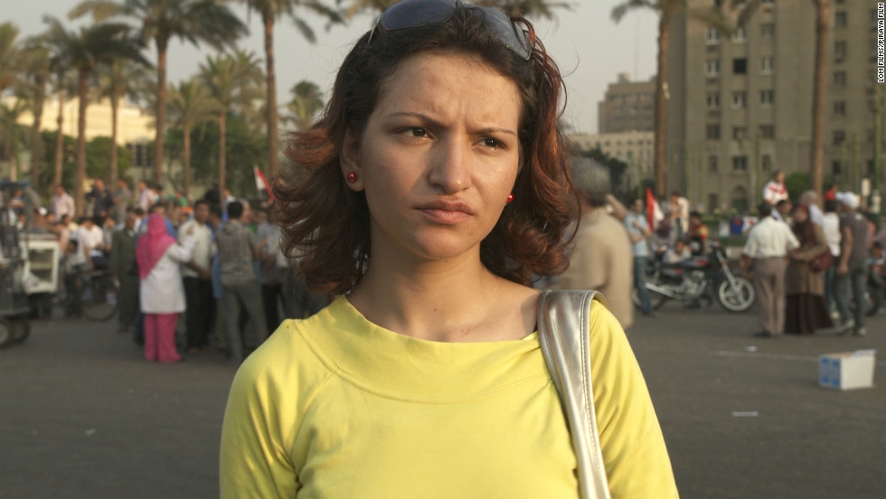 Salwa Hosseiny, 20, is from a small village in the Nile Delta. While protesting in Tahrir Square, Salwa, and 20 other young women were arrested, tortured, and forced to undergo public virginity tests.