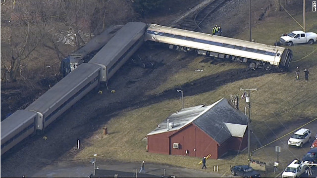 "An Amtrak passenger train ""made contact"" with a vehicle Wednesday at a highway crossing near Ann Arbor, Michigan."