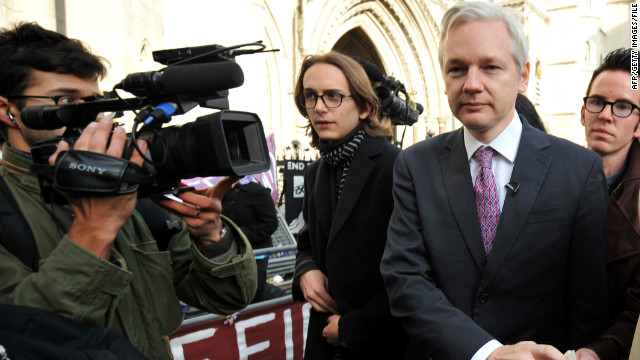 WikiLeaks founder Julian Assange leaves London's High Court in December in his fight against extradition to Sweden.