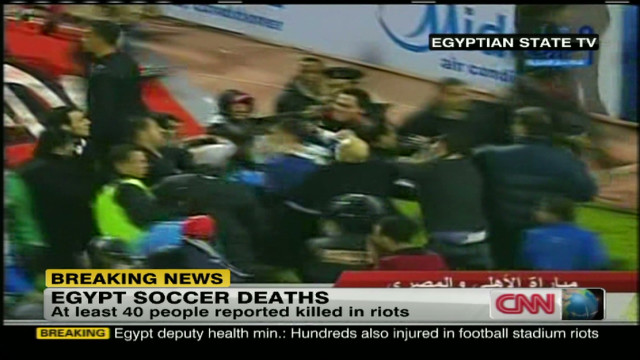 Soccer riot death toll climbs in Egypt