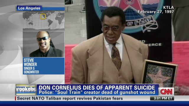 Stevie Wonder remembers Don Cornelius