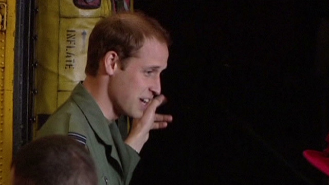2012: Prince William posted to Falkland Islands
