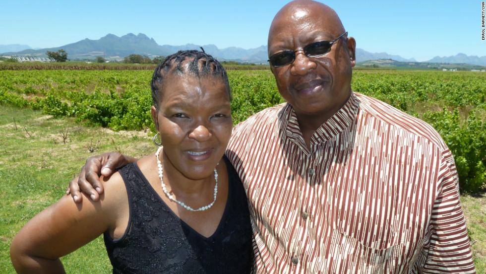 M'hudi is a vineyard run by the Rangaka family.