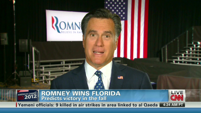 Romney: Poor have safety net