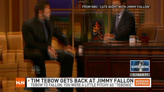 Tebow critiques Fallon's 'Tebowie'