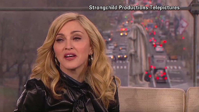 Madonna has pre-Super Bowl jitters
