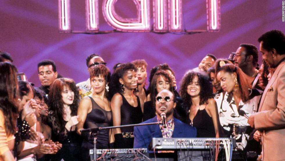 "Stevie Wonder apperas on the show. The elite of late-20th century black pop musicians, from Aretha Franklin, Smokey Robinson, James Brown, Teddy Pendergrass, Marvin Gaye, Al Green, Diana Ross and Gladys Knight, to the Jackson Five, O'Jays, Spinners, Gap Band and Commodores took live turns on the ""Train"" -- and frequently delivered some of their more potent televised performances."