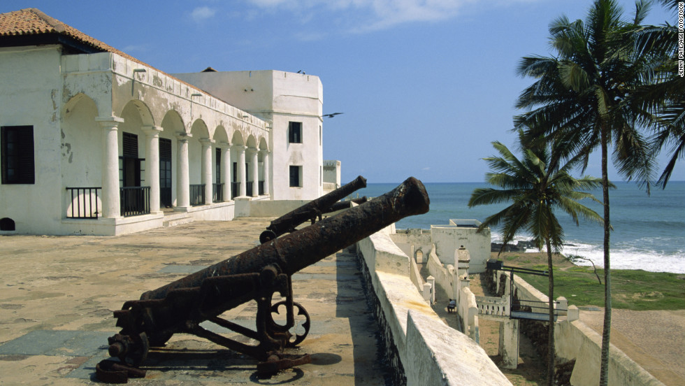 Elmina Castle was the first European slave-trading post in sub-Saharan Africa.