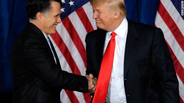 Trump to Romney: Go get 'em