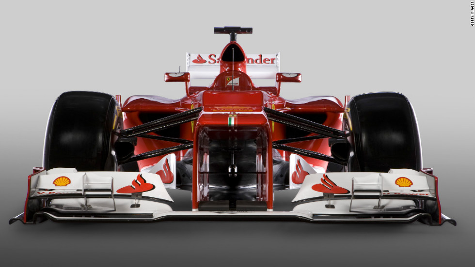Ferrari unveiled the F2012 Friday, their car for the forthcoming Formula One season. The Italian team had planned to reveal the car Thursday, but heavy snowfall around the team's factory forced a postponement.