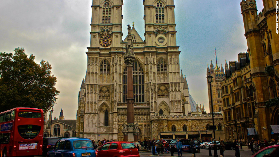 "Therese Fitzgerald took this photo of Westminster Abbey. ""The history and stories surrounding this beautiful abbey is overwhelming once you step inside. The architecture is breathtaking and it's just magical to walk in the footsteps of so many of history's legends."""