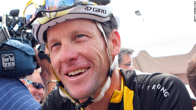 Lance Armstrong has denied doping and never failed a drug test.