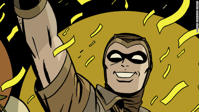 "Artist Darwyn Cooke's work on ""Minutemen"""
