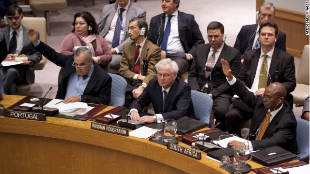China, Russia veto UN resolution on Syria