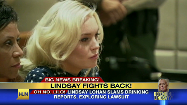 Lindsay Lohan threats to sue over claims