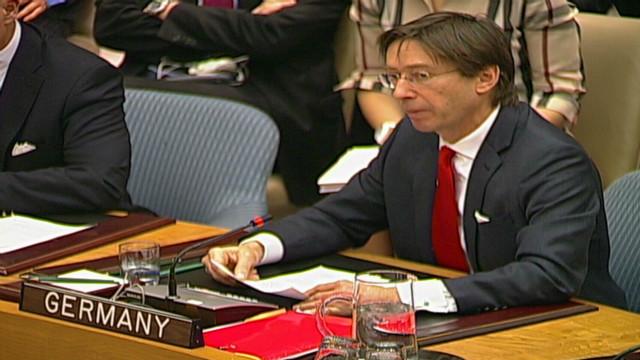 Germany, UK decry vetoes on Syria