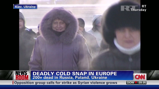 Europe's deadly deep freeze