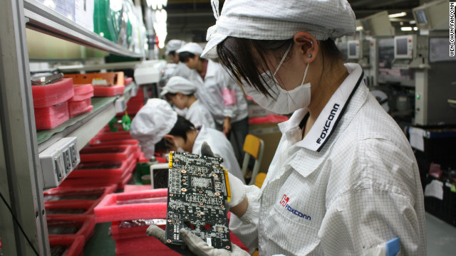 Apple supplier progress in China