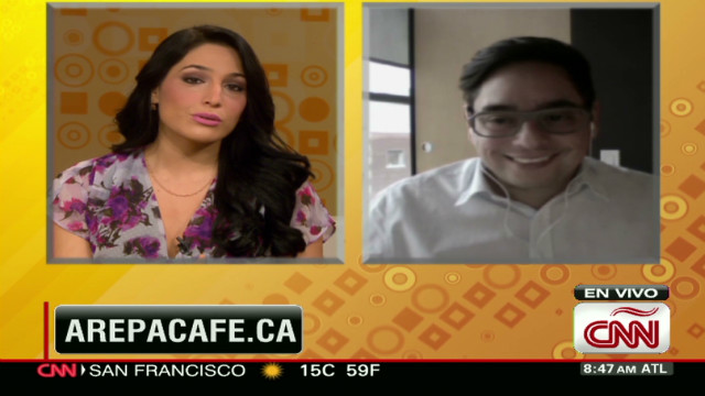 CAFE CNN AREPA CONTROVERSY EDUARDO LEE  _00020111
