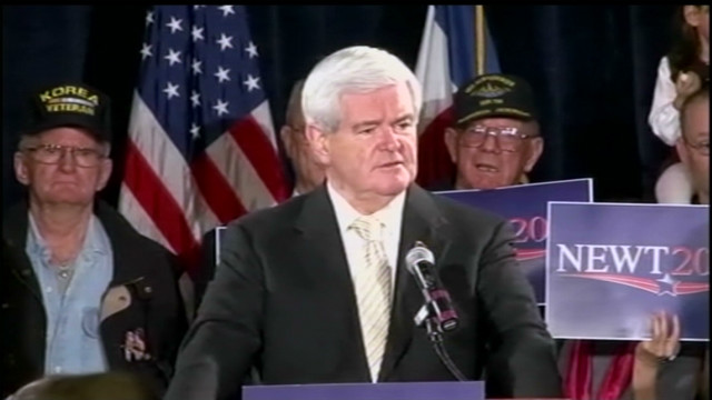 Gingrich compares Obama to Jimmy Carter