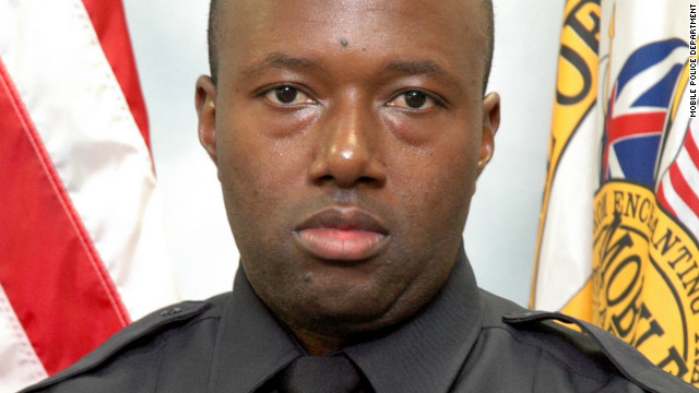 Mobile, Alabama, police officer Steven Green, 36, was fatally stabbed on Friday while transporting a robbery suspect.