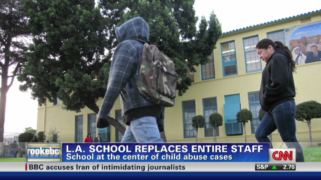 Parent reacts to school abuse scandal