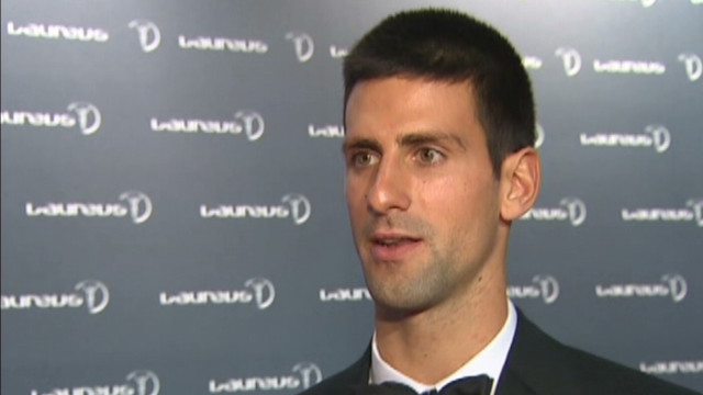 Novak Djokovic: Sportsman of the year