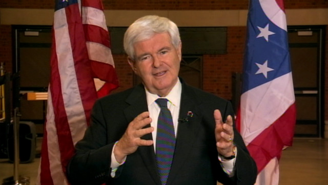 Gingrich: We're in the race all the way