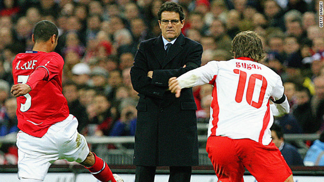 Capello resigns as England manager