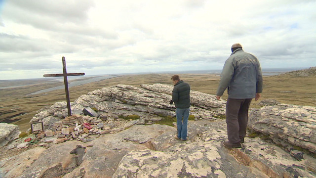 Falklands filled with reminders of war