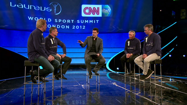 Laureus panel discusses racism