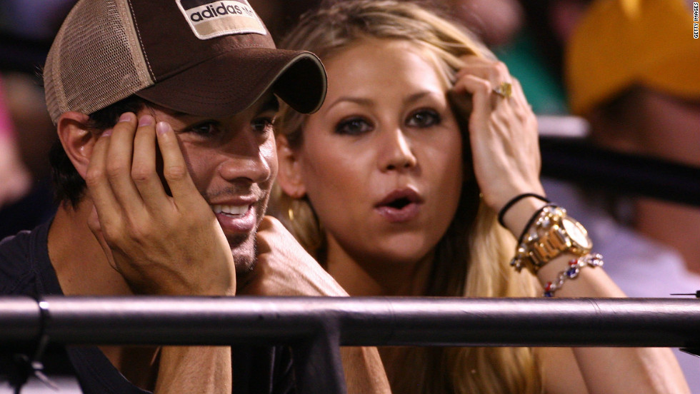 "The courtship of former world No. 8 Kournikova and pop star Iglesias was the very definition of a high-profile romance when they started dating in 2001. The Russian appeared in the video for Iglesias'  song ""Escape,"" causing a media frenzy. They are still together, 10 years on."