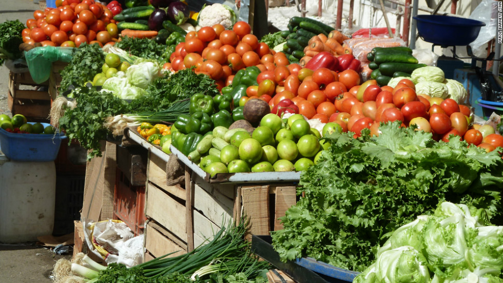 """Vegetables are abundant in Senegal and are an important part of """"Thiebou Jen."""""""