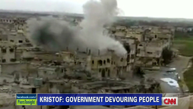 'Syrian government devouring its people'