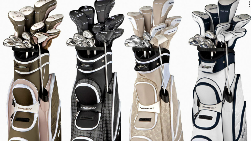 World number one Yani Tseng and top young American Brittany Lincicome are just two players who use these impressive new women's clubs from Adams Golf. A cool $900 will ensure you possess a set of them too.