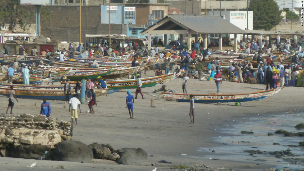 Dakar is the capital of Africa's westernmost nation, Senegal. For generations, life in the sea has sustained life on land there.