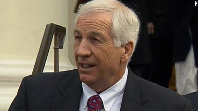 Jerry Sandusky has been under house arrest while he awaits trial on sex abuse charges.