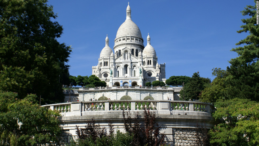 Bob Graham, a retired American Airlines pilot, took this photo of Sacre Coeur during one of his 40 trips to Paris.