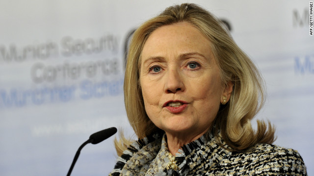 Clinton sees 'modest step forward'