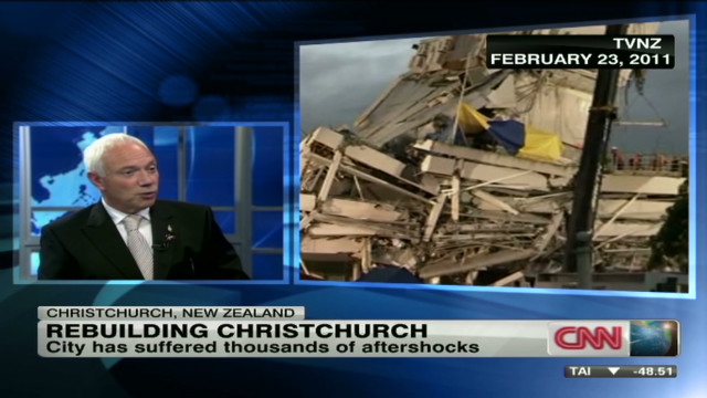 Rebuilding Christchurch after the quake