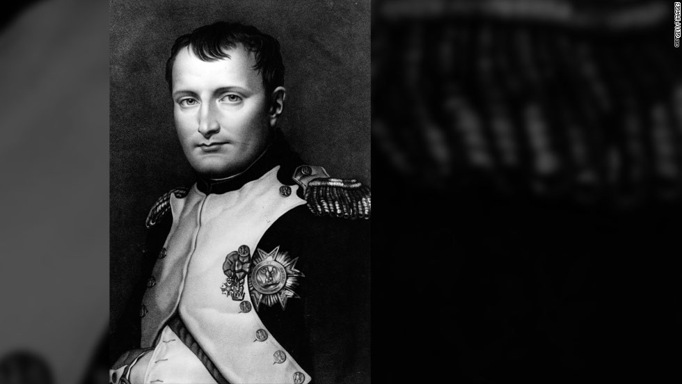 Napoleon Bonaparte, emperor of France, wrote tender and passionate love letters to his wife, Josephine, throughout their courtship and even after they were married.
