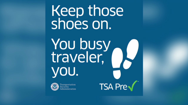 Good news from TSA