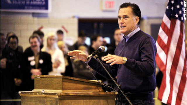 Romney attacks Santorum as an 'insider'