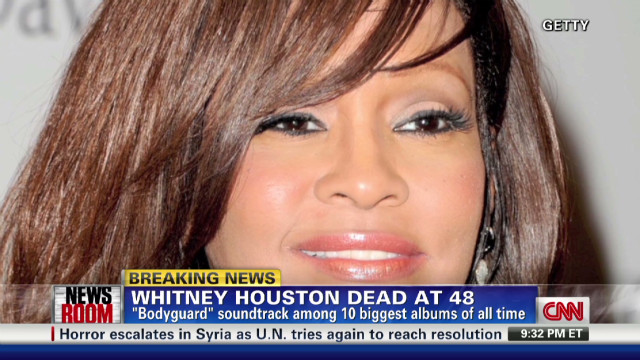 Sharpton: Whitney a 'songbird'